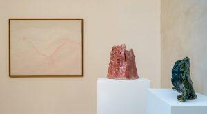<i>l'homme qui fera pousser un arbre nouveau</i>, 2017 </br> installation view, musée départemental d'art contemporain de rochechouart, rochechouart