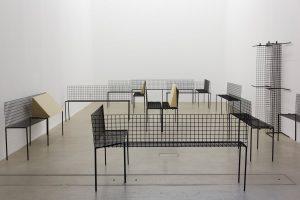 <i>oxymoron grey</i>, 2015 </br> installation view, kaufmann repetto, milan