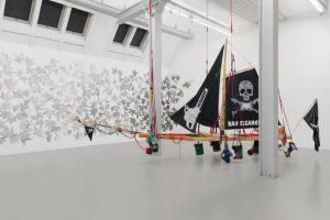 light and gravity, installation view, weserburg museum für moderne kunst, bremen, 2019, photo by tobias hübel