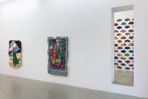 <i>disrupting and resisting</i>, 2018</br>installation view, kaufmann repetto, milan