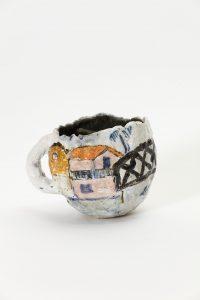<i>untitled</i>, 2018 </br> glazed ceramic, 8 x 11 cm / 3.1 x 4.3 in
