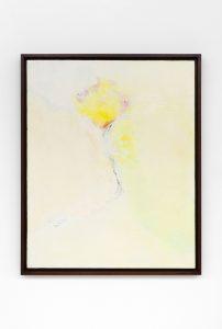 flower, 1978 oil on canvas, 86 x 70 x 4,1 cm / 33.8 x 27.5 x 1.6 in