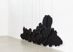 latifa echakhch, untitled (black clouds), 2015,