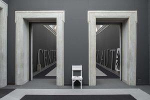 <I>auto body collision</I>, 2014 </br> installation view, fondazione memmo, rome