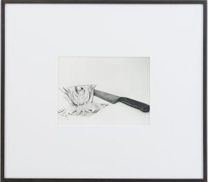 <i>fennel</i>, 2015 </br> framed silver gelatin print, 59,6 x 67,3 cm / 23.5 x 26.5 in