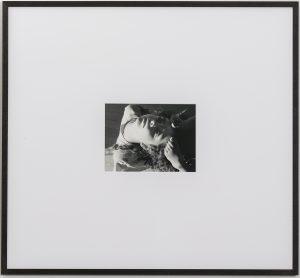 <i>backbend</i>, 2015 </br> framed silver gelatin print, 59 x 64 cm / 23.5 x 25.5 in