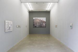 <i>la gloria vostra fu sole</i>, 2014  </br> installation view, kaufmann repetto, milan