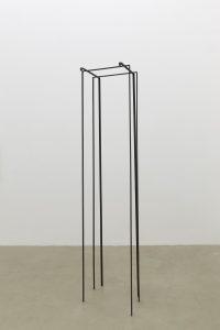 <i>untitled,</i> 2013 </br>  steel, 201 x 44 x 37 cm / 79.1 x 17.3 x 14.5 in
