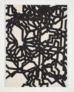 <i>derives</i>, 2015 </br> acrylic on canvas, 200 x 150 cm / 78.7 x 59.1 in