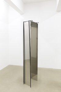 <i>untitled,</i> 2013 </br>  steel, 203 x 67 x 35,5 cm / 79.9 x 26.3 x 13.9 in