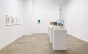 <i>bruno munari. works: 1930-1996</i>, 2018 </br> installation view, kaumann repetto and andrew kreps gallery, new york
