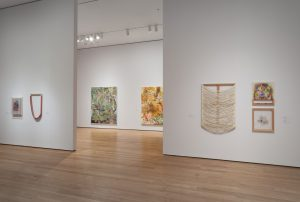 <I>the forever now: contemporary painting in an atemporal world</I>, 2014 </br> installation view, moma, new york