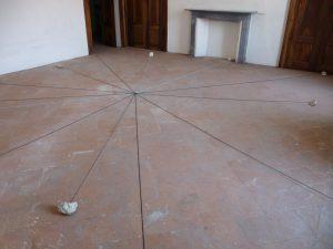 <i>testimoni di uno spazio antico (witnesses of an ancient space)</i>, 2011 </br> installation view, fondazione francesco messina, milan