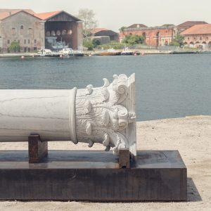 <i>the column</i>, 2014 </br> installation view, 14th architecture Venice biennale, venice