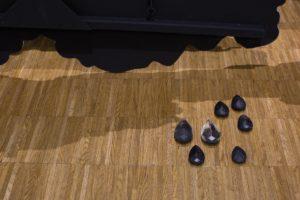 <i>encrage (les larmes de verre)</i>, 2014 </br> (detail)