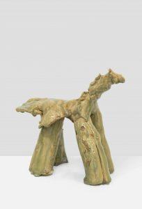 <i>horse</i>, 2009 </br> glazed stoneware, 22,2 x 27,2 x 12,7 cm / 8.7 x 10.7 x 5 in