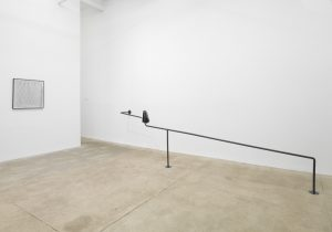 <i>cracking nuts</i>, 2014  </br> installation view, kaufmann repetto, new york