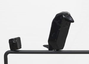 <i>two birds looking back (1-2)</i>, 2014 