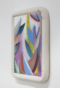 <i>untitled</I>, 2014 </br> oil on canvas, 76,2 x 63,5 x 7,6 cm / 30 x 25 x 3 in