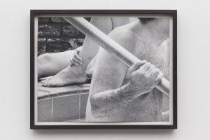 <i>parents/pool</i>, 2014 </br> silver gelatin print, 38,4 x 47,4 x 3 cm / 15.1 x 18.7 x 1.2 in