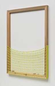 <i>untitled</I>, 2014 </br> oil on canvas on poplar </br> 284,5 x 91,4 x 6 cm / 112 x 36 x 2.3 in