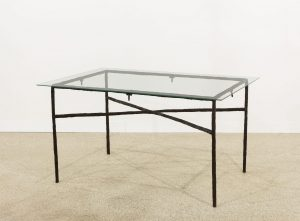 <i>table and few bronze snails</i>, 2016