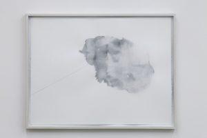 <i>catturatore di volumi (II) (capturer of volumes II)</i>, 2012 </br> watercolor, pencil on paper,  60,5 x 81,5 cm / 23.8 x 32.1 in