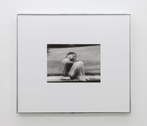 <i>self-portrait (pool)</i>, 2013 </br> silver gelatin print, 27,9 x 35,5 cm / 10.9 x 14 in