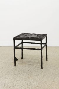 <i>stool and few bronze snails</i>, 2016
