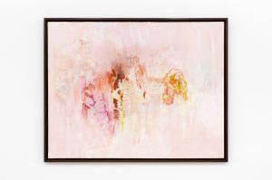 spring in baghdad, 1974 oil on canvas, 95 x 122 x 4,2 cm / 37.4 x 48 x 1.6 in