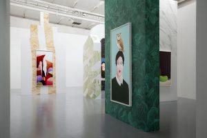 <i>cimaise</i>, 2016 </br> installation view, centre d'art neuchâtel, neuchâtel