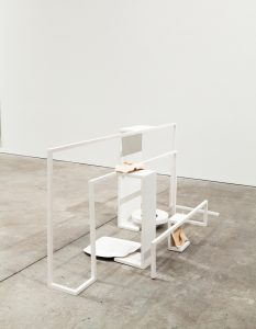 <i>time again</i>, 2011 </br> installation view, sculpture center, new york