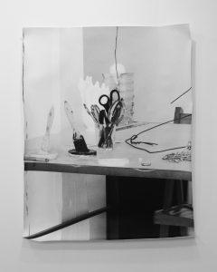 <i>untitled (studio series) #2</i>, 2011 </br> silver gelatin print, 101,6 x 76,2 cm / 40 x 30 in