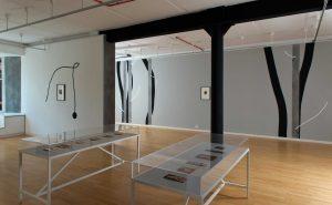 <i>mezzotint</i>, 2016 </br> installation view, Glasgow print studio, glasgow