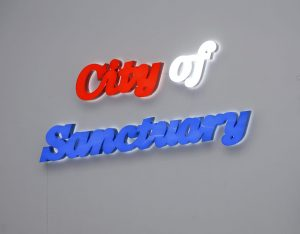 <i>city of sanctuary</i>, 2012