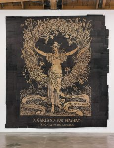 <i>garland for may day (illustration by walter crane)</i>, 2012