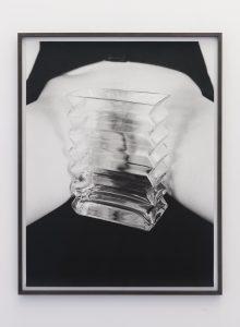 <i>vagina/vase</i>, 2011 </br> framed photograph, 85 x 66 cm / 33.4 x 25.9 in