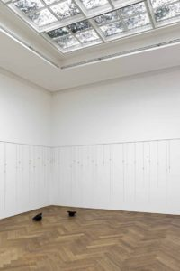 latifa echakhch, morgenlied (morning song), installation view, kunsthalle basel, switzerland, 2012
