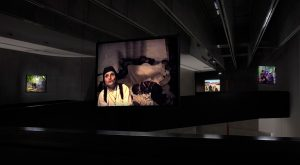 the visitors, installation view,