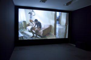 <i>electric blue</i>, 2010  </br> installation view, kunsthaus zurich, zurich