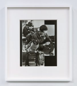 <i>senza titolo (untitled)</i>, 1932-33 </br> photocollage, 31 x 30 cm / 12.2 x 11.8 in