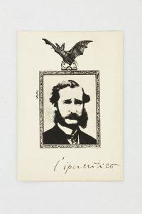 <i>l'ipercritico (the hypercritical)</i>, ca. 1930 </br> photo print, 18 x 13 cm / 7.1 x 5.1 in