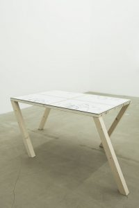 <i>walking table 1</i>, 2012 