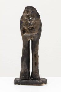 <i>standing man</i>, 2012 </br>glazed stoneware, 32 x 13 x 9 cm / 12.5 x 5.1 x 3.5 in