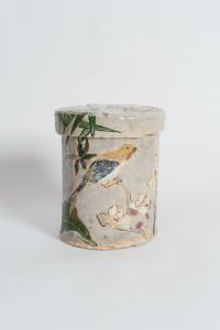 <i>untitled</i>, 1994 </br> glazed ceramic, 14,2 x 11,4 x 11,7 cm / 5.6 x 5 x 5 in