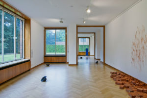 <i>from threshold to threshold</i>, 2011 </br>  installation view, museum haus esters, krefeld