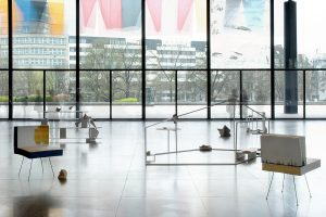 <i>deaf and dumb universe</i>, 2008 </br> installation view, 5th berlin biennale, neue nationalgalerie, berlin