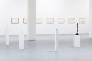 <i>endings</i>, 2011  </br> installation view, kunstverein bonn, bonn