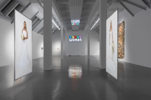 <i>light and gravity</i>, 2019 </br> installation view, weserburg museum für moderne kunst, bremen