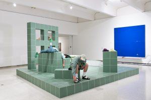 <I>Cabbage five four ways</i>, 2020 </br> Installation view, Walker Art Center, Minneapolis, 2021